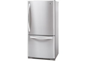 LG - LBC22520ST - Bottom Freezer Refrigerators