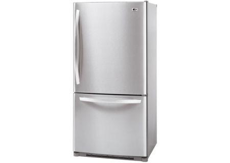 LG - LBC22520ST - Bottom Freezer Refrigerators