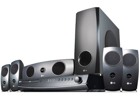 LG - LHT854 - Home Theater Systems