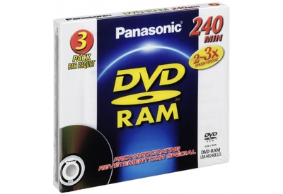 Panasonic - LM-AE240LU3 - Recordable DVD Discs