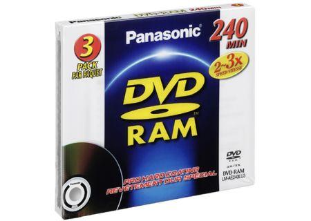 Panasonic - LM-AE240LU3 - Recordable DVD Discs