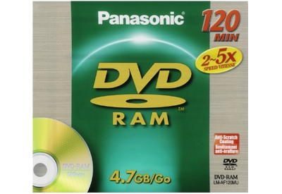 Panasonic - LM-AF120M - Recordable DVD Discs