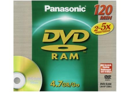 Panasonic - LM-AF120M - Recordable DVD Discs
