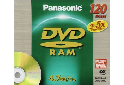 Panasonic - LM-AF120MU - Recordable DVD Discs