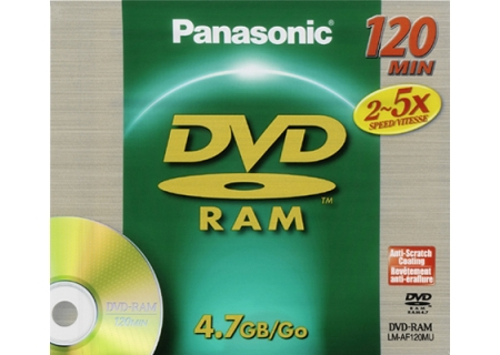 Panasonic - LM-AF120MU - Recordable DVD Discs