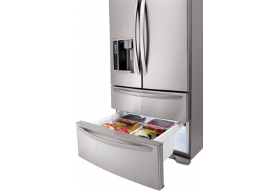 LG - LMX25981ST - Bottom Freezer Refrigerators