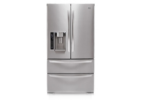 LG - LMX25985ST - Bottom Freezer Refrigerators