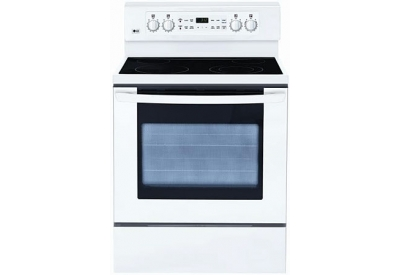 LG - LRE3091SW - Electric Ranges
