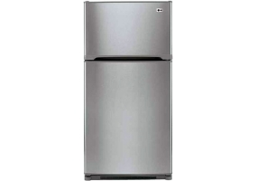LG - LTC22350AL - Top Freezer Refrigerators