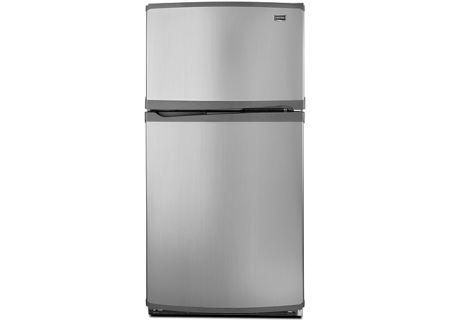 Maytag - M0RXEMMWM - Top Freezer Refrigerators