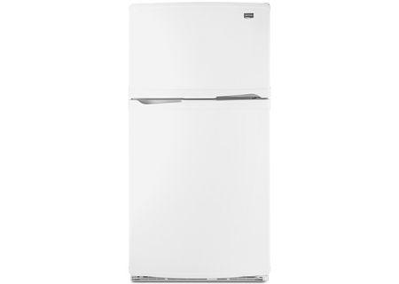 Maytag - M0RXEMMWW - Top Freezer Refrigerators