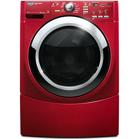 Maytag Performance Series Mhwe450wr Crimson Red Front Load