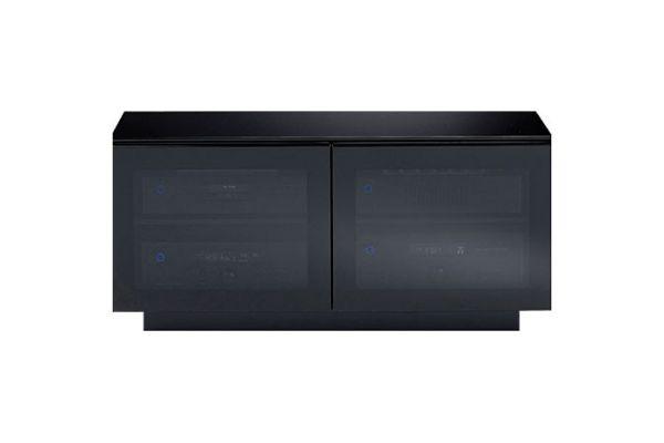 Large image of BDI Mirage 8224 Black TV Stand - MIRAGE8224