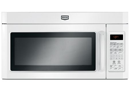 Maytag MMV4203DW White Over The Range Microwave Oven