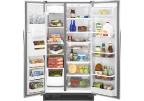 Maytag - MSD2554VEW - Side-by-Side Refrigerators