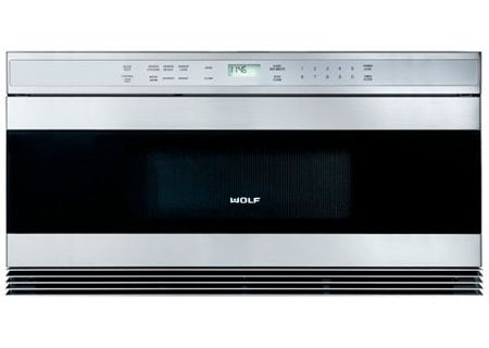 "Wolf Stainless Steel 30"" Unframed Drawer Microwave Oven - MWD30-2US"