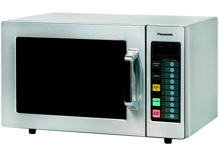 Panasonic Stainless Steel Commercial Countertop Microwave Oven - NE ...