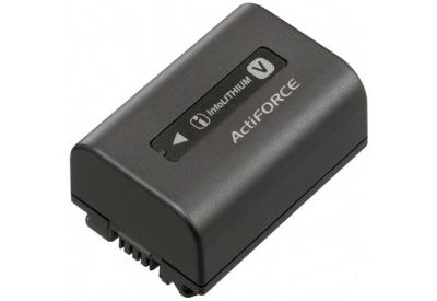 Sony Black Rechargeable Battery Pack Npf V50 Abt