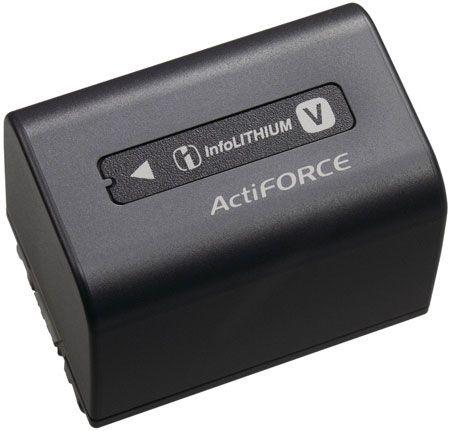 Sony V Series Black Rechargeable Battery Pack Npf V70