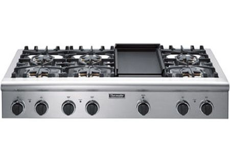 Thermador 48 Stainless Steel Gas Cooktop Pcg486ed