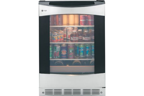 Large image of GE Profile Stainless Frame Beverage Center - PCR06BATSS