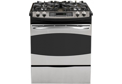 GE - PGS968SEPSS - Slide-In Gas Ranges