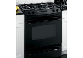 GE - PGS975DEPBB - Slide-In Gas Ranges
