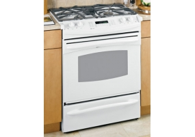 GE - PGS975DEPWW - Slide-In Gas Ranges