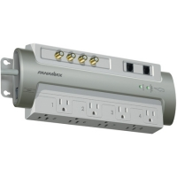 Panamax Gray Home Theater Power Surge Protector