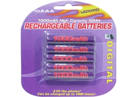 Lenmar - PRO-1010 - Rechargeable Batteries