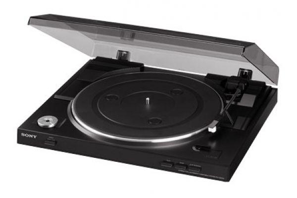 Sony Black USB Stereo Turntable System - PS-LX300USB
