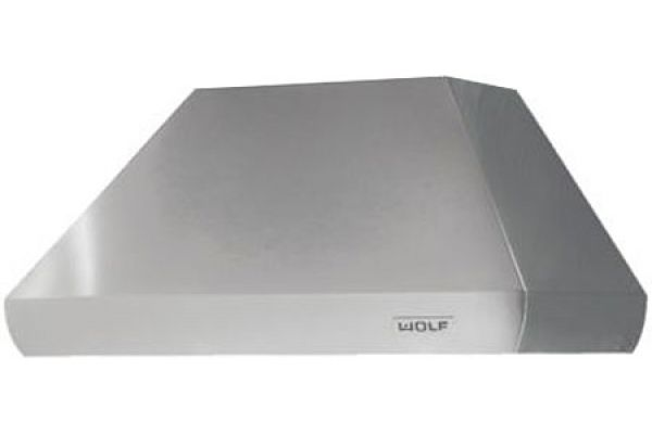 """Wolf 48"""" Pro Stainless Steel Wall Chimney Hood - PWC482418"""
