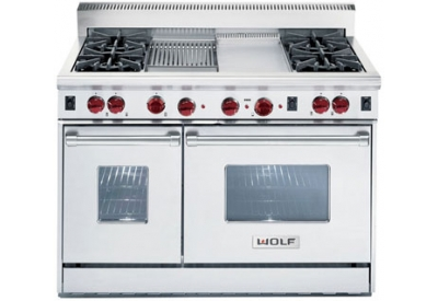Wolf - R484F - Gas Ranges