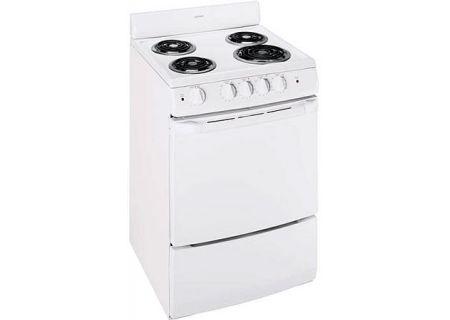GE Hotpoint White Freestanding Electric Range - RA724KWH