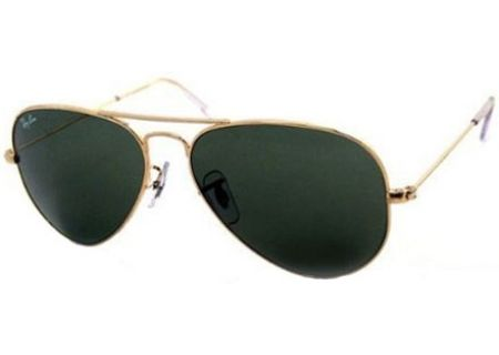 f393a67d5a6 Ray-Ban RB3025 Icons Large Aviator Gold Unisex Sunglasses - RB3025 W3234