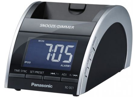 Panasonic - RC-DC1 - Clocks & Personal Radios