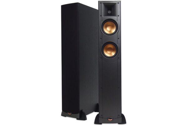 """Large image of Klipsch Reference Series Dual 5.25"""" Floorstanding Pair Loudspeaker - RF52BK"""