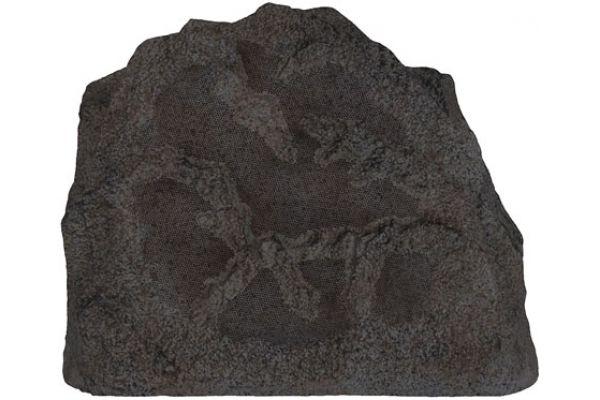 Large image of Sonance RK63 Brown Landscape Series Rock Outdoor Speakers (Pair) - RK63BR (92744)