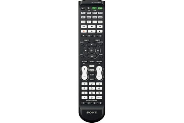 Sony Black Learning Universal Remote Control - RM-VLZ620