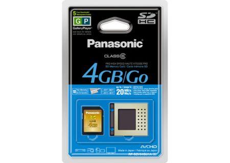 Panasonic - RP-SDV04GU1K - Memory Cards