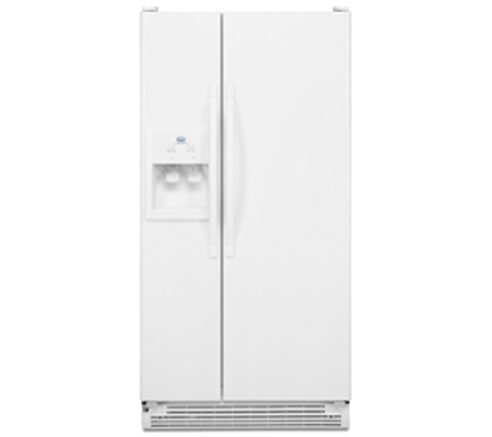 Roper Rs22aqxmq White Side By Side Refrigerator