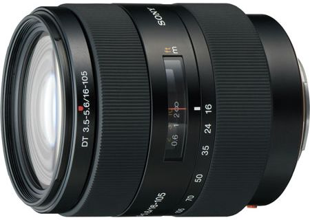 Sony DT 16-105mm f/3.5-5.6 Wide-Range Zoom Lens - SAL-16105