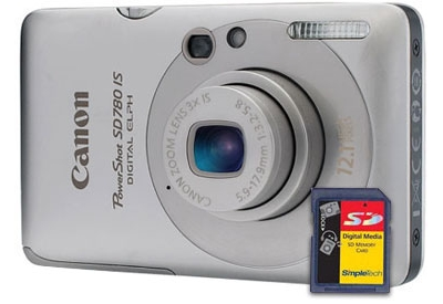 Canon - SD780 IS KIT - Digital Cameras