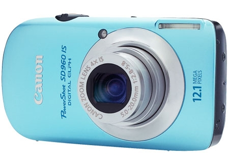 Canon - SD960 ISBLU - Digital Cameras