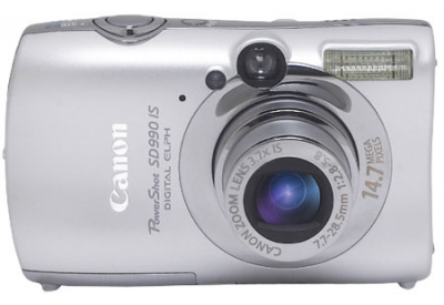 Canon - SD990 IS - Digital Cameras