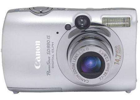 Canon - SD990 IS - Digital Cameras