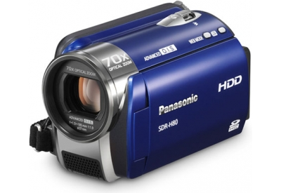 Panasonic - SDR-H80A - Camcorders