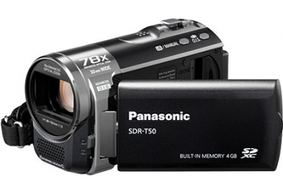 Panasonic - SDR-T50K - Camcorders & Action Cameras