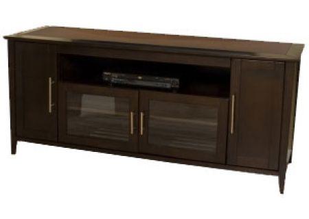 Tech Craft Espresso 64 Credenza TV Stand SHK6428E