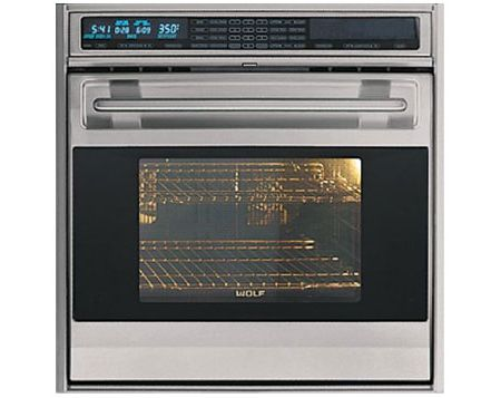 Wolf 30 L Series Built In Single Electric Wall Oven Clic Stainless Steel Finish So30u S